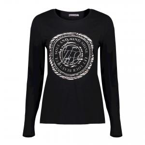 Geisha T-shirt lange mouw met circle print